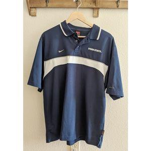 Penn State Nike dri fit golf shirt late 1990s